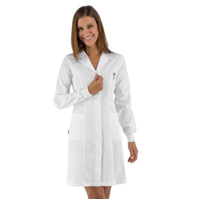 Blouse blanche femme poignets tricots