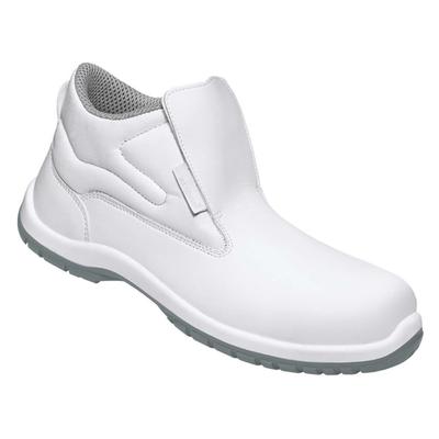 chaussure cuir montante