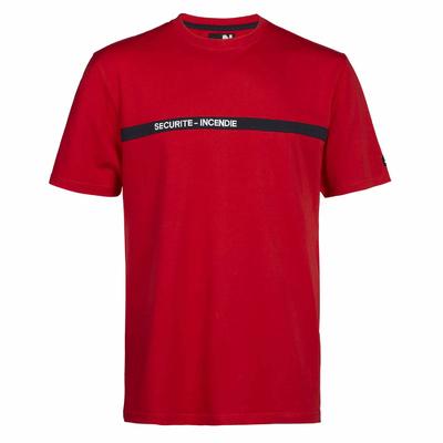 T-shirt agent de sécurité incendie