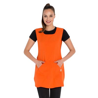 Tablier de travail chasuble orange