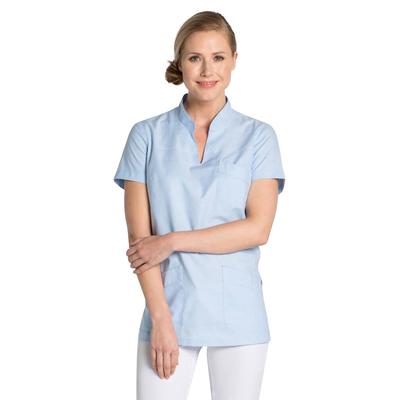 Blouse médicale femme bleu ciel
