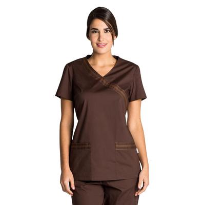 Blouse médicale Femme marron