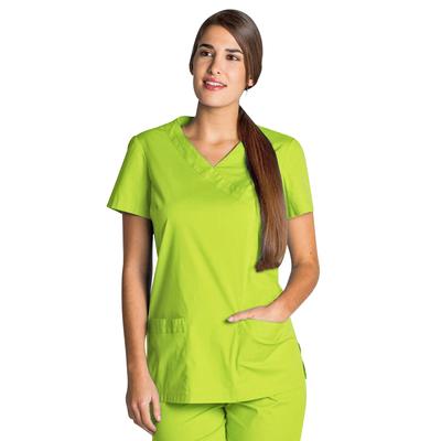 Blouse médicale femme vert anis