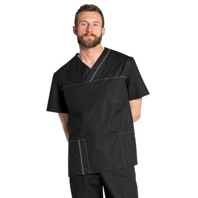 Blouse médicale homme noire