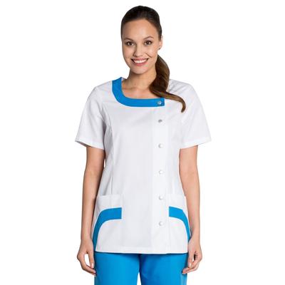 Blouse médicale bi color Femme