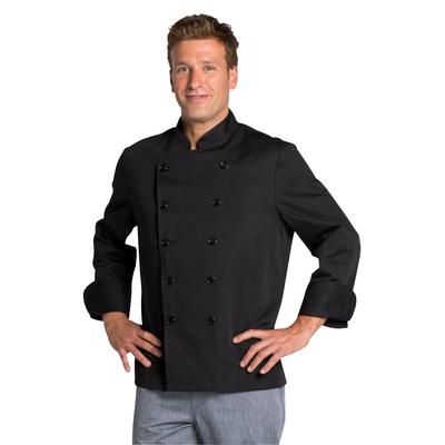 Acheter veste de cuisine noire pas cher