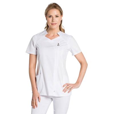 Vêtement de travail tunique blanche