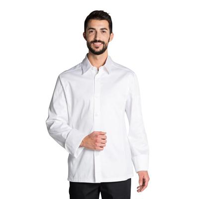 Veste chemise de cuisine couleur blanche