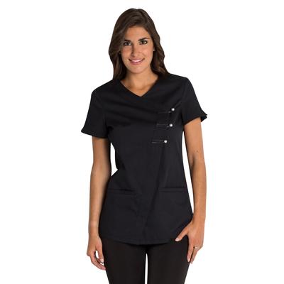 blouse médicale femme couleur noire