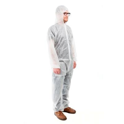 Combinaison de protection blanche jetable Mutexil