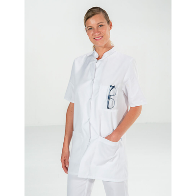 trouver joli tunique médecin femme 3 poches confortable