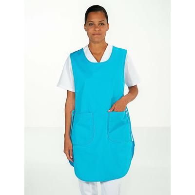 chasuble personnel entretien femme bleu