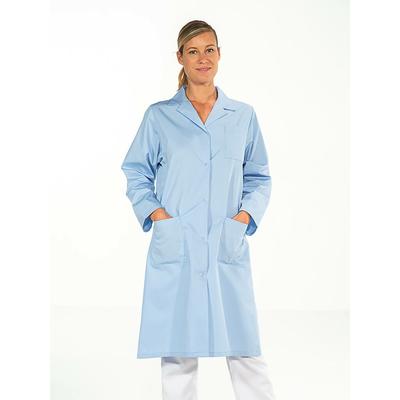 trouver jolie blouse médicale femme manches longues bleu ciel