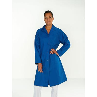 voir blouse médicale joli bleu manches longues pour femme pas cher