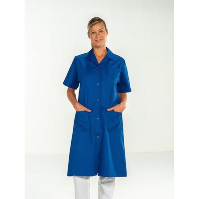 blouse infirmière manches courtes bleu roi