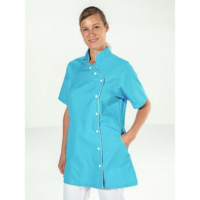 acheter tunique esthéticienne bleu turquoise pas cher