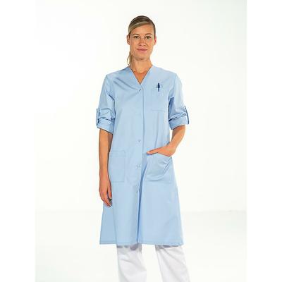 trouver blouse médicale bleu ciel manches réglables pas cher