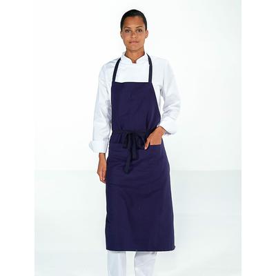 trouver tablier cuisine bleu pratique avec poche pas cher