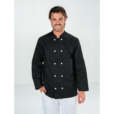veste de cuisine noire manches longues pas chère