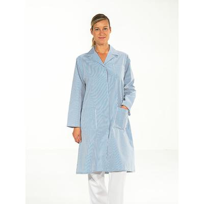 acheter blouse de travail rayé bleu manches longues pas cher