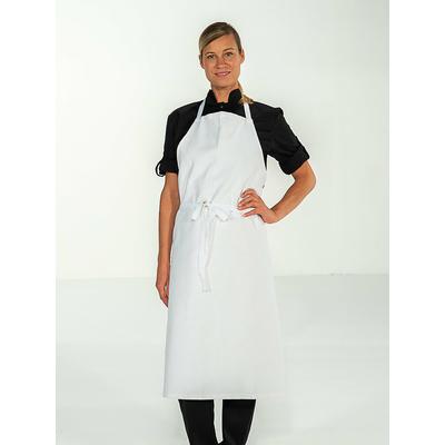 trouver tablier de cuisine blanc 100% coton