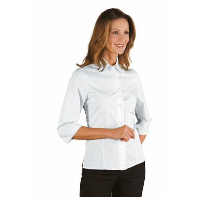 chemise blanche manches 3/4 femme