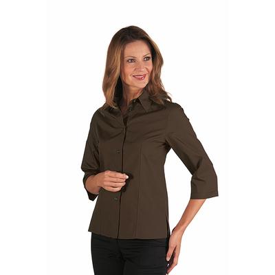chemise femme couleur marron