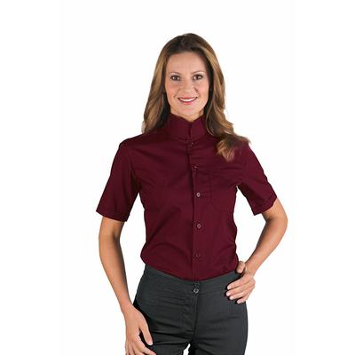 chemise bordeaux femme