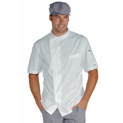 veste chef cuisinier blanche tissu ultra l ger vestes de. Black Bedroom Furniture Sets. Home Design Ideas