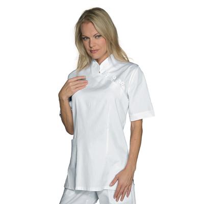 tenue esthéticienne blanche