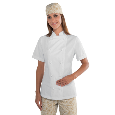 veste de cuisine blanche pour femme tissu extra l ger