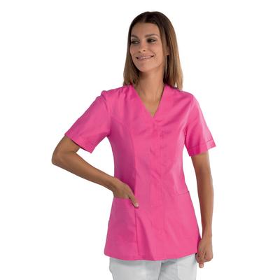 tunique médicale rose