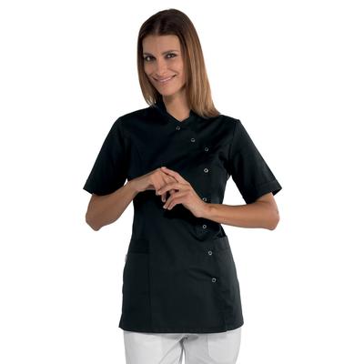tunique estheticienne noire nizza manches courtes tuniques et blouses estheticienne tuniques. Black Bedroom Furniture Sets. Home Design Ideas