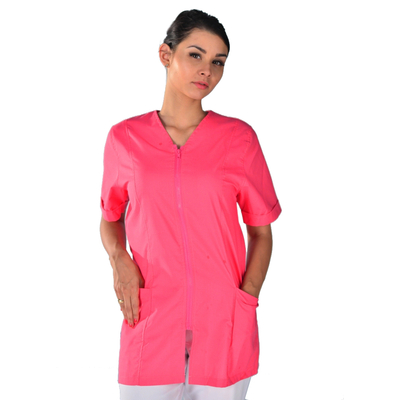 Blouse médicale rose isacco
