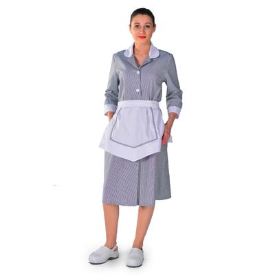 Blouse Femme de chambre grise Carlton