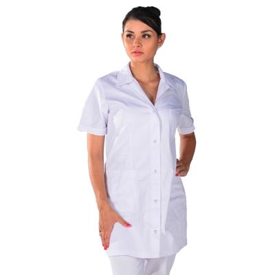 Tunique de travail blanche Femme Clinic Look