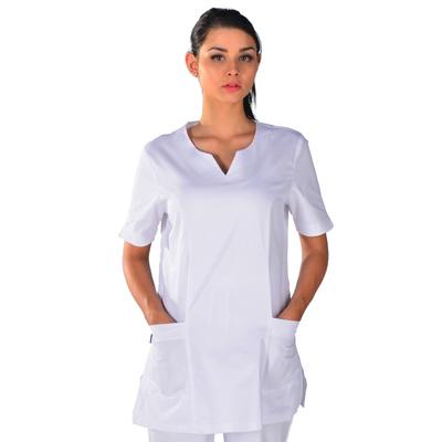 Tunique médicale blanche Alice