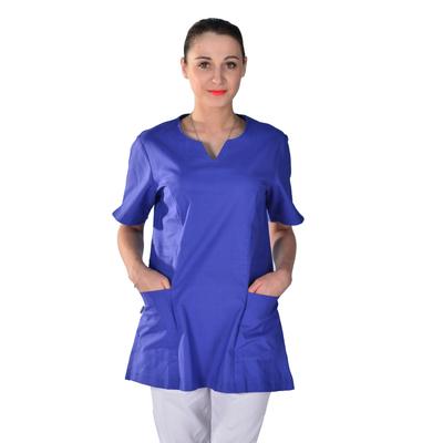 Tunique médicale bleu hopital Alice