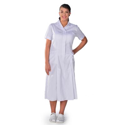 Blouse médicale blanche manches courtes Lea