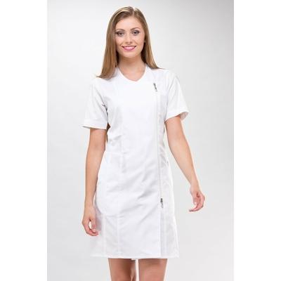 blouse blanche estheticienne