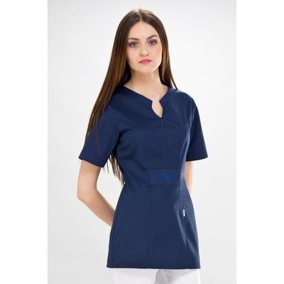 casaque médicale bleu