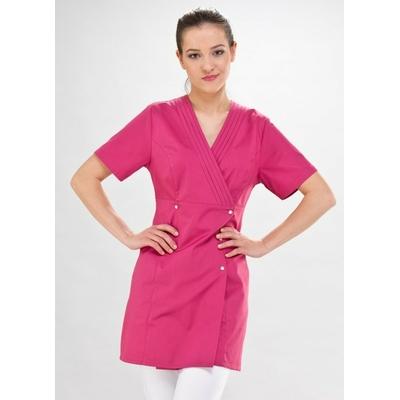 blouse estheticienne rose