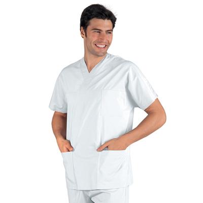 casaque tunique médicale blanche
