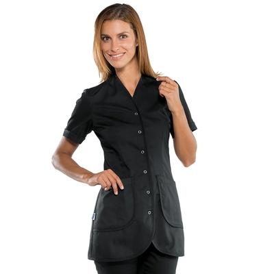 blouse esthéticienne noire