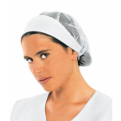 charlotte de de cuisine femme avec filet chapeaux de cuisine. Black Bedroom Furniture Sets. Home Design Ideas