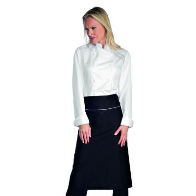 Veste Chef Cuisinier Femme Blanc Microfibres - 057550.jpg