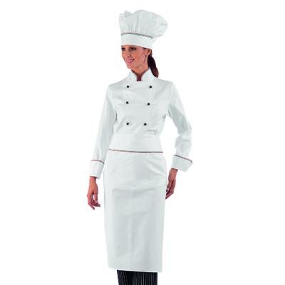 Veste de cuisine Femme italie 100% Coton - 057510.jpg