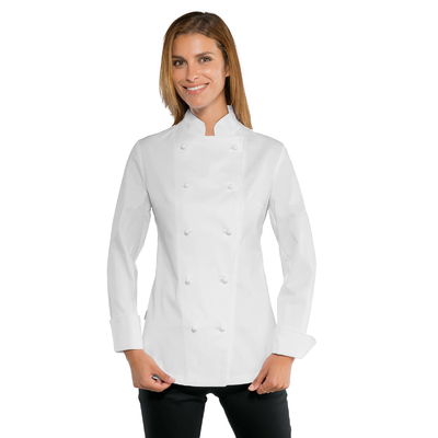 Veste blanche de cuisine Lady Chef Stretch - 057578.jpg