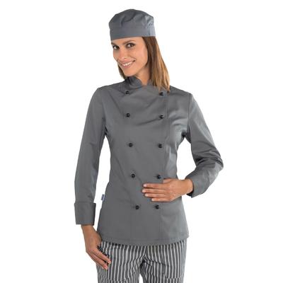 Veste cuisine Lady Chef grise - 057512.jpg
