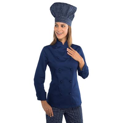 Veste cuisine Lady Grand chef bleue - 057502.jpg